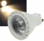 Preview: LED Strahler GU10, 1 COB, 3000k, 500lm, 230V/7W, warmweiß