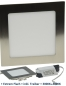 "Preview: LED Panel ""CCT-017"" 17x17cm, 1200lm 21W, 3000k+4000k, dimmbar in 2Steps"