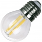 "Preview: LED Tropfenlampe E27 ""Filament T4"" 3000k, 470lm, 230V/4W, warmweiß"