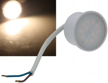 "LED-Leuchte ""Piatto P3"" warmweiß 3000K, 230V, 3W, 260lm, 50x28mm"