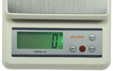 "Präzisionswaage Zählfunktion ""CT PW-10"" 0-10kg, ±1g, 21x15x4,5cm"