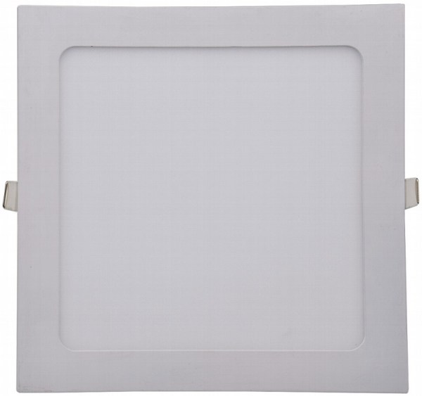 LED Licht-Panel, 22,5x22,5cm 230V, 18W, 1300 Lumen, 2900K / warmweiß